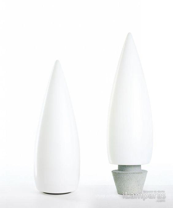 kanpazar 150 d lampara de pie g5 2x21w blanco (659214) - B.Lux / https://iLamparas.com