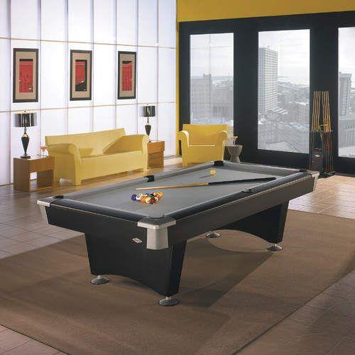 Boca Billiards 8 4 Slate Pool Table With Professional Installation Included Sala De Juegos Casas Casitas