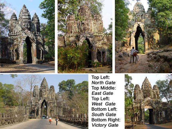 5 cổng của Angkor Thom