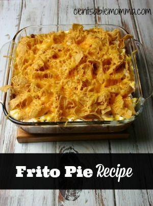 pie recipes sour cream cream frito pie vegan cheese meat vegans ...