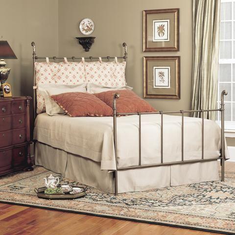 Old Biscayne Elegant Style Marisol Bed, Custom Furniture World