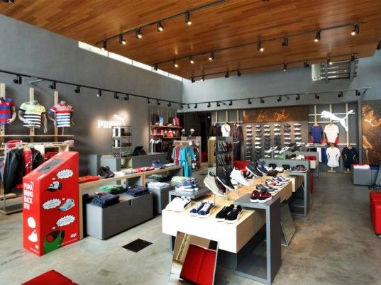 "Puma opened its first totally sustainable retail location the other day in India. We're impressed with their dedication and innovation in regards to live ""green"". #sustainable #retail"