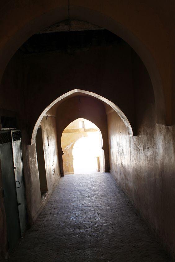 La ville de ouazan : Maroc.