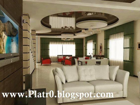 Faux Plafond Chambre A Coucher Tunisie : Gypsum False Ceiling ...