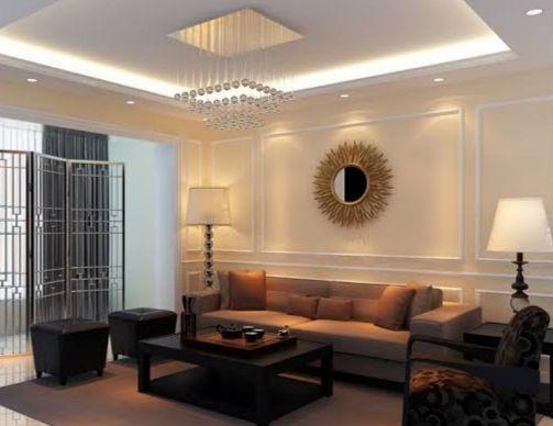 ديكورات جبس في الرياض Modern Living Room Lighting Interior Ceiling Design Living Room Ceiling