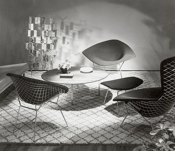 Making Bertoia | The Bertoia Collection designed by Harry Bertoia, 1952 | PC: Knoll Archive | Knoll Inspiration: