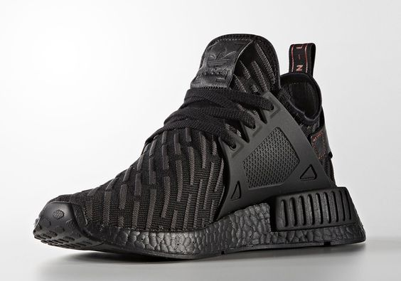 Adidas NMD XR1 PK Triple Black Running Shoes
