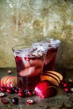 Apple Cranberry Moscow Mules