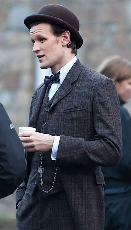"""I'm a Victorian now, Victorians are cool."" This is just never going to get old is it? And apparently the word cool in my brain is forever going to be read in Matt Smith's voice."