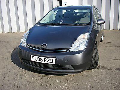 Ebay 2008 Toyota Prius Hybrid T3 Vv I Auto Grey Damaged