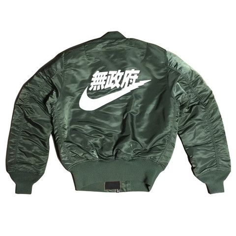 Sold Out Store - Air Tokyo MA-1 Bomber Jacket - Olive | THESOS.CO ...