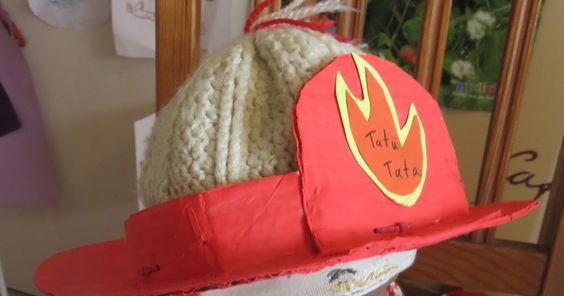 Zange und Hammer: Feuerwehr Kindergeburtstag – Teil 1: Feuerwehrhelm basteln