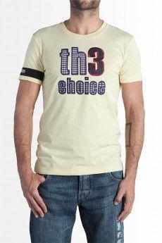 Camiseta Th3 Choice Logo Square Amarilla  57.00€
