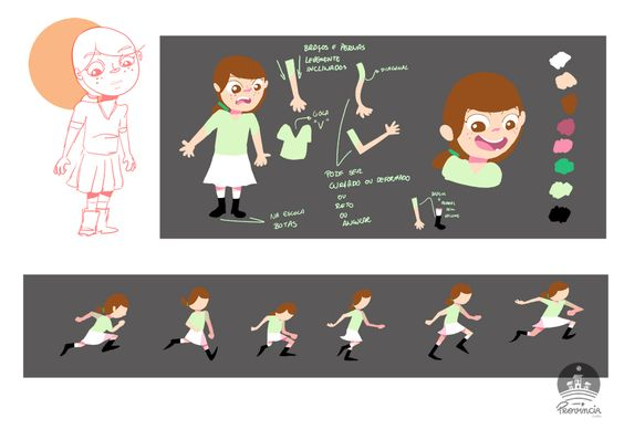character design,color palette
