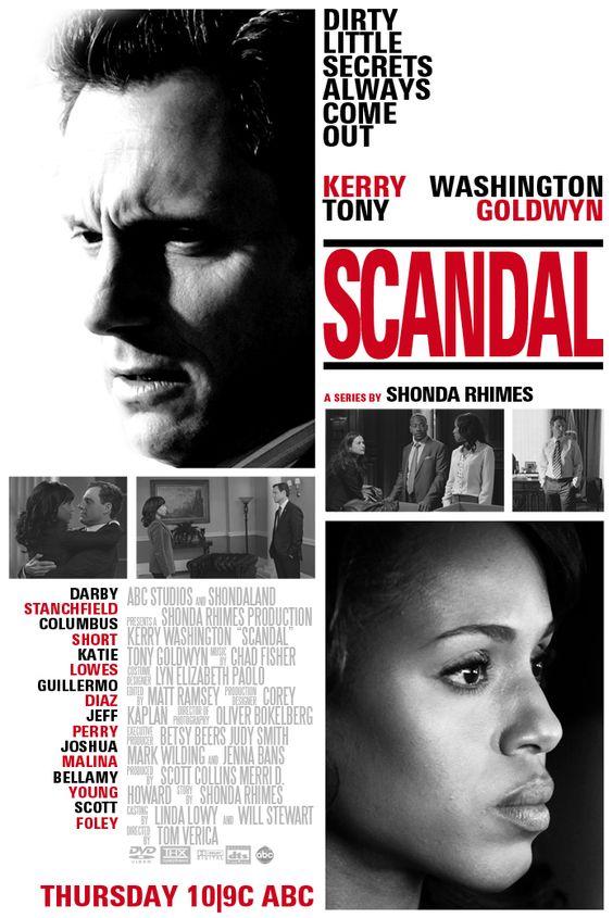 Scandal ABC poster remake