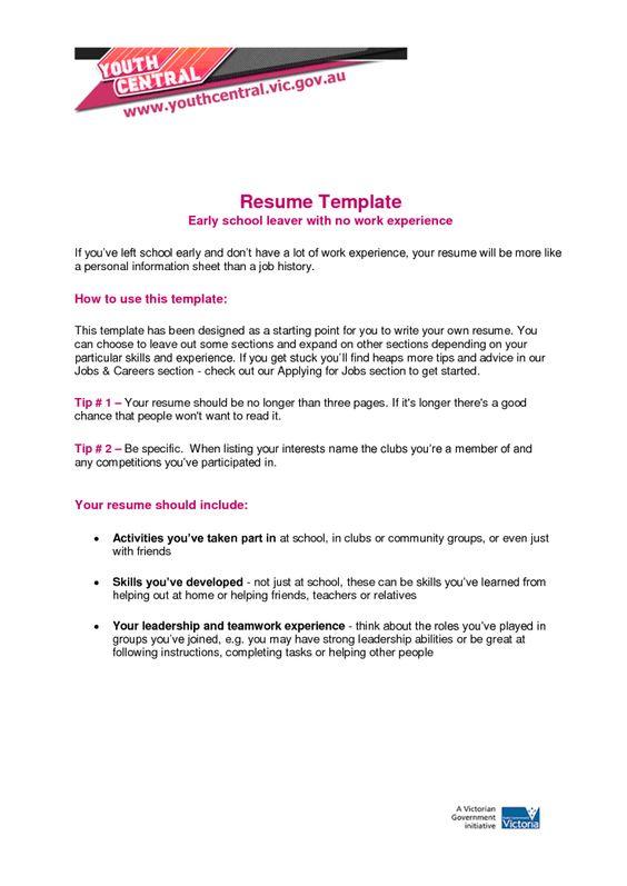Pin On Sample Resumes