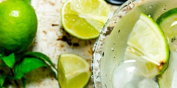 A base used for making Margaritas decreased sugar to one cup and used 2 oranges, 1 cup lemon juice, 1 cup of lime juice, 3 cups of water.