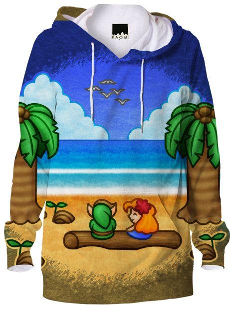 #zelda #hoodie #beach