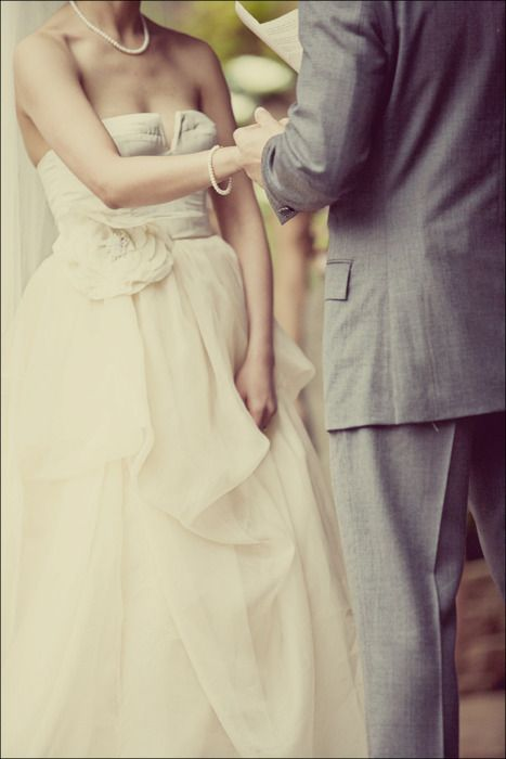 Loads of feeling without seeing faces #bride #wedding