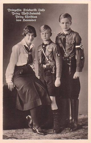 Young Frederika of Hannover wearing the nazi uniform | by Greek Royalist