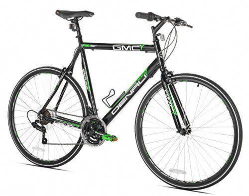 Cheap Gmc Denali Flat Bar Road Bike 22 5 Inch 57cm Medium Black