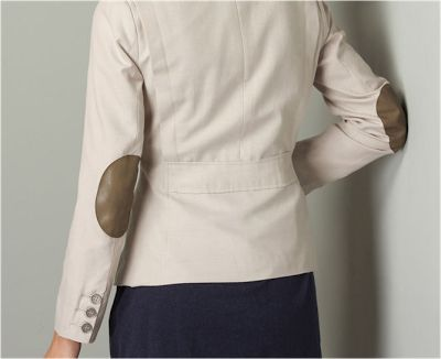 Fashion y Fácil : Coderas de encaje para customizar una chaqueta o a...