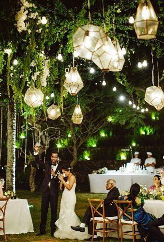 Ideas Wedding Hanging Installations ★ wedding hanging installations chic lanterns Samm Blake