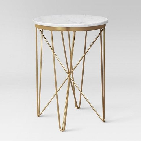 Marble Top Round Table Gold Project 62 With Images Marble
