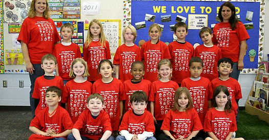 ClassroomFaces.com - Self-portrait class shirts with faces or handprints created by your students! Great for field trip and graduation t-shirts.