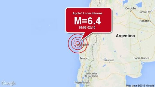 CLICK NA IMAGEM : Forte terremoto atinge Chile, a 76 km de Talcahuano