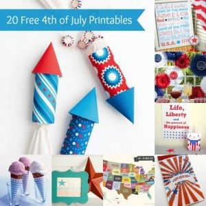 20 free 4th of July printables you&#8217...