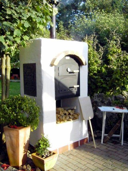 Ramster´s Holzbackofen-Shop - Holzbackofen Flammkuchenofen und Brotbackofen - Bilder von umbauten / eingebauten Öfen
