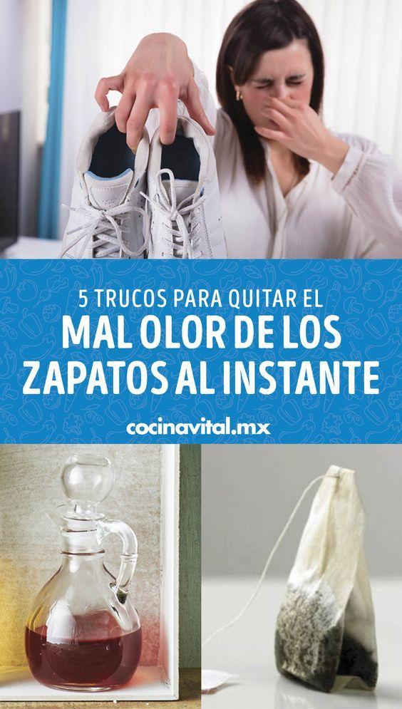 El Mal Olor En Los Zapatos Y Algunos Objetos Que Están En Constante Roce Con Nuestro Cuerpo P En 2020 Limpieza De Zapatos Trucos De Limpieza Trucos Para Lavar La Ropa