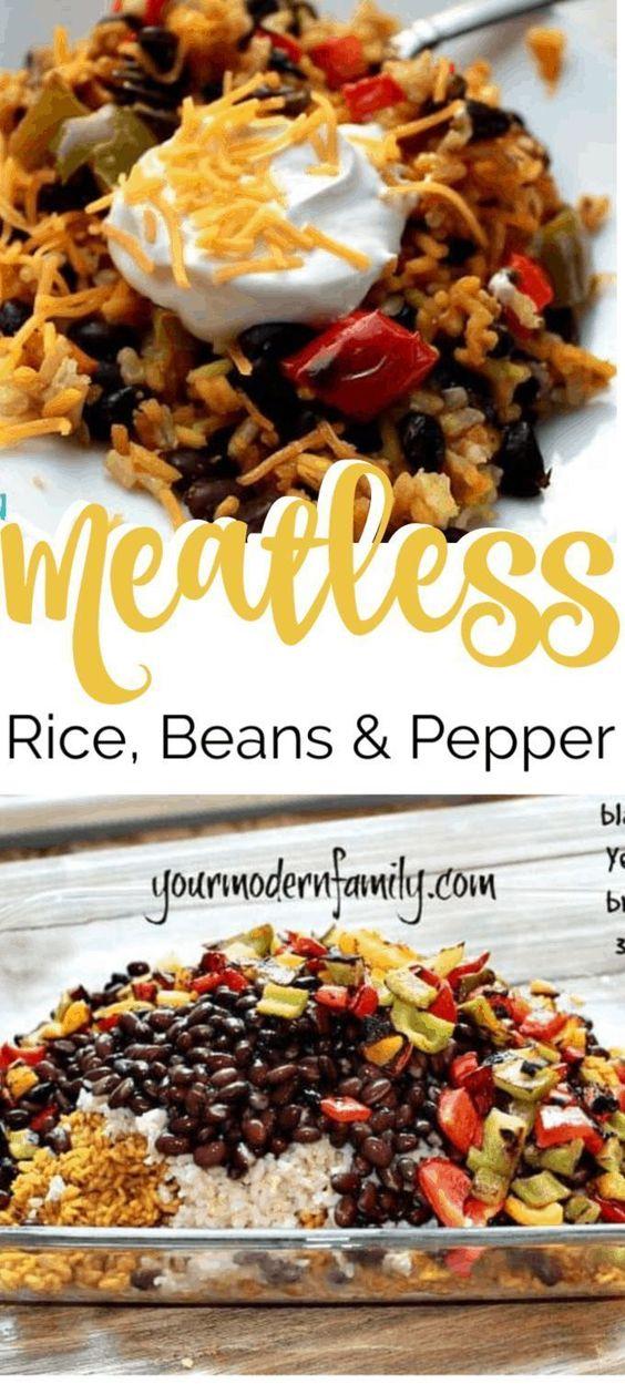 Meatless meal (SO EASY!)