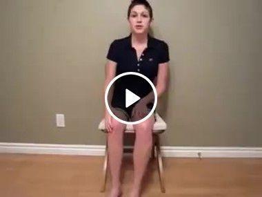 Isso que flexível a perna dobra e não quebra