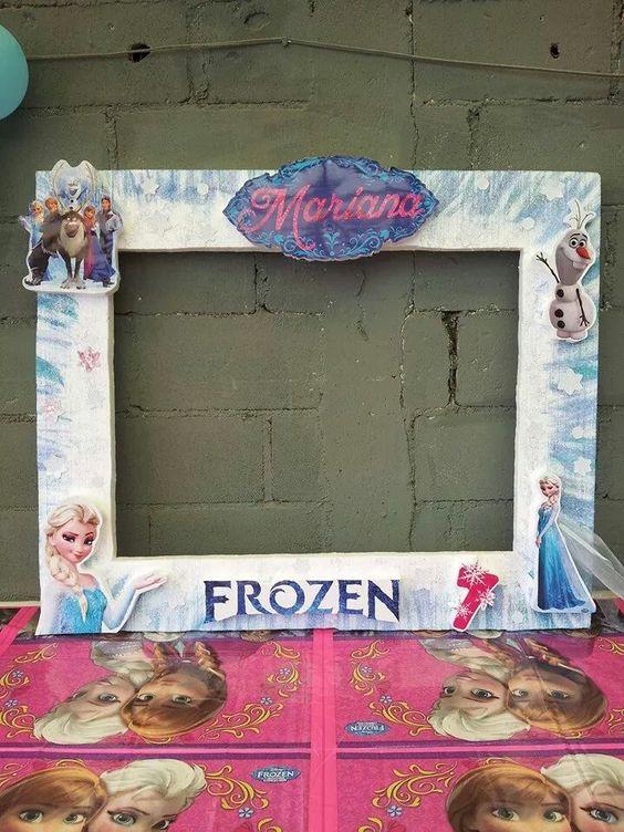 Cuadro fotos Frozen: