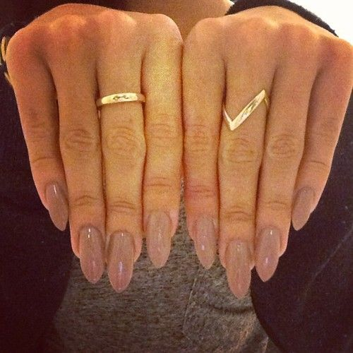 how to cut and shape stiletto nails
