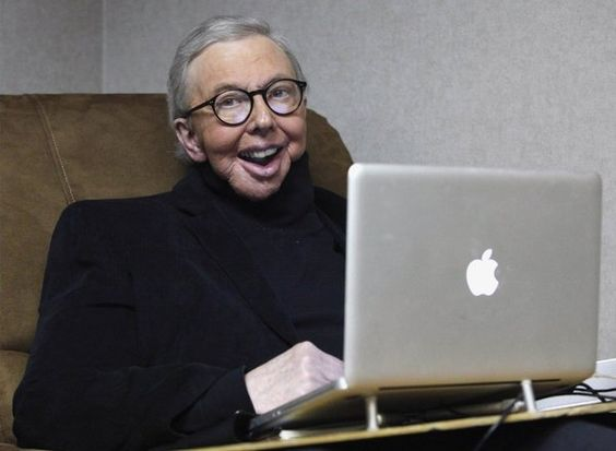 Roger Ebert slows down as he fights cancer.