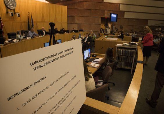 Clark County Commissioners marijuana regulations hbtv hemp beach tv