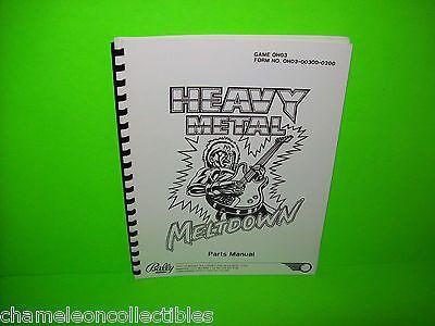 heavy metal meltdown pinball machine