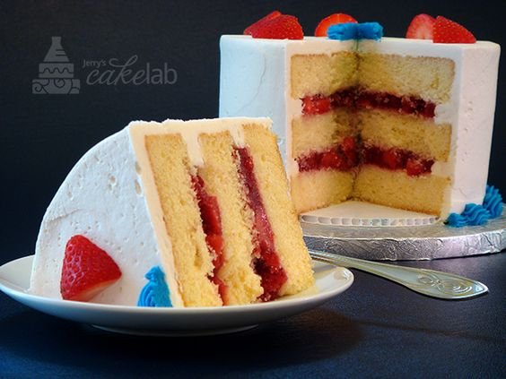 How to make a 2 layer yellow cake