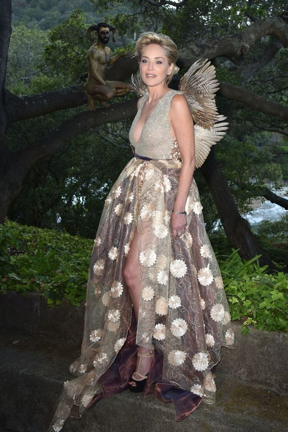 Sharon Stone's Fairy Winged Dress: Proof You Can Embody Your Childhood Dreams At Any Age