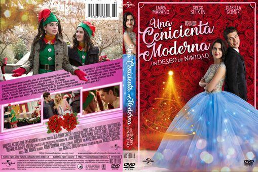 A Cinderella Story Christmas Wish Cover Label Dvd Por Siempre Cenicienta Deseos De Navidad Una Cenicienta Moderna
