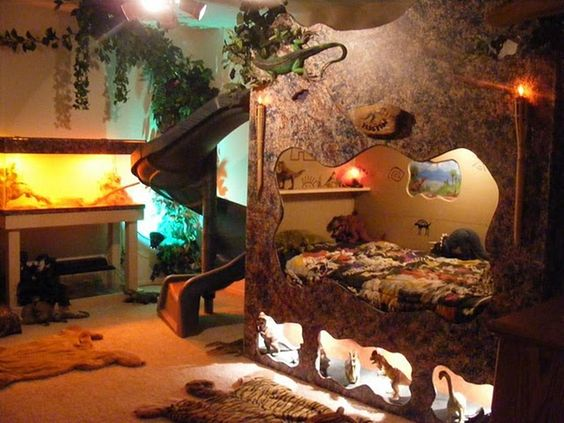 10 epic themed rooms for boys page 9 of 9 lovely spaces for Boys bedroom ideas dinosaur theme