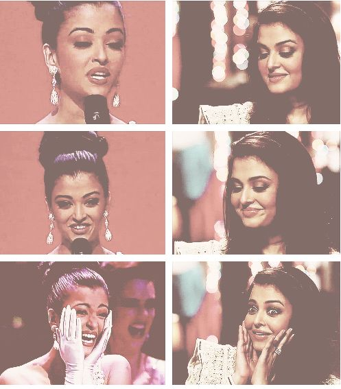 Expressive Aishwarya at the David Frost Interview
