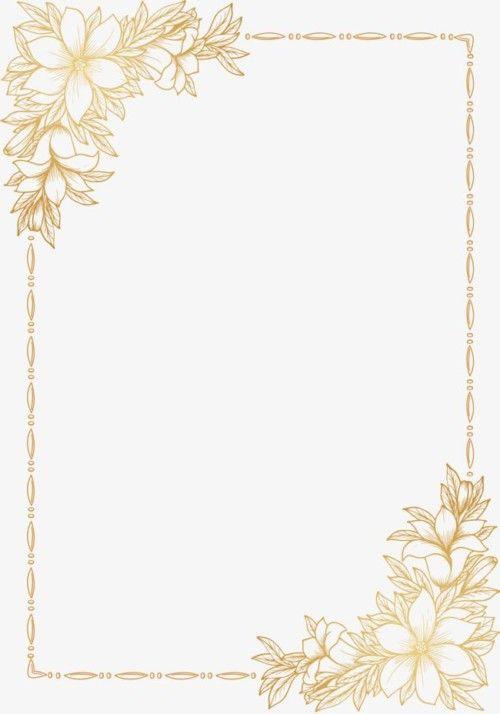 Invitaciones De Boda Gratis Para Imprimir Y Personalizar Floral Border Design Invitation Background Flower Backgrounds