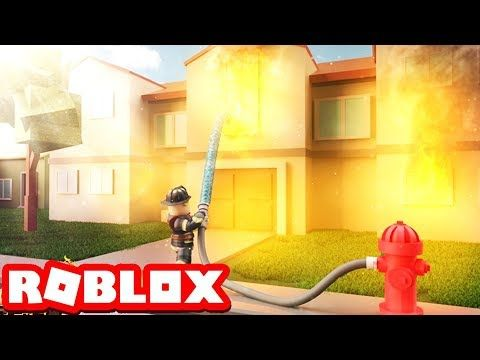 Being A Firefighter In Roblox Firefighter Simualtor Roblox Movie Youtube With Images Roblox Firefighter Movies