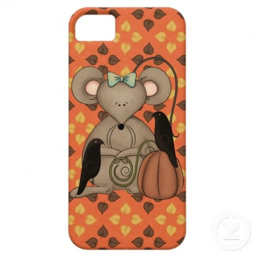 fall Mouse iPhone case mate barely there 4 iPhone 5 Case