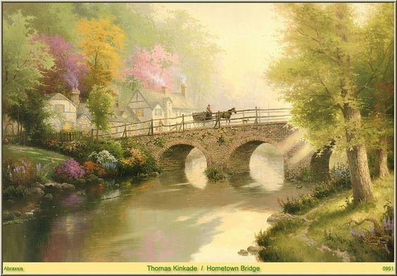 Мост в родном городе. Кинкейд Томас