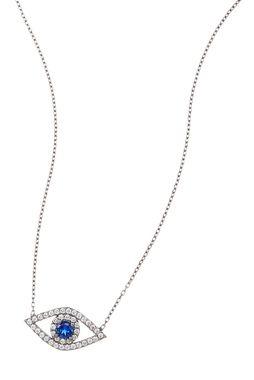 BLACK RHODIUM EYE NECKLACE - SUSAN HANOVER DESIGNS - NECKLACES - Products || The Dark Horse Jewellery Australia